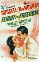 Flight for Freedom 1943 DVD - Rosalind Russell / Fred MacMurray